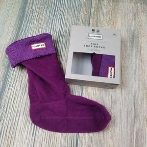 New HUNTER original kids glitter boots socks